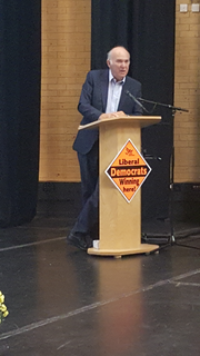 Vince Cable gives Keyword Speech at South Central Regional Conference, Oct 2016
