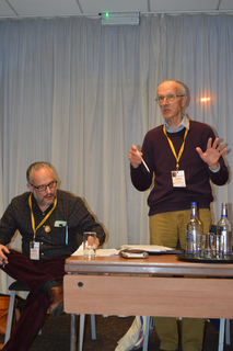 David Cooper and Tony Vickers at ALTER Fringe, 2017 York Spring Conference